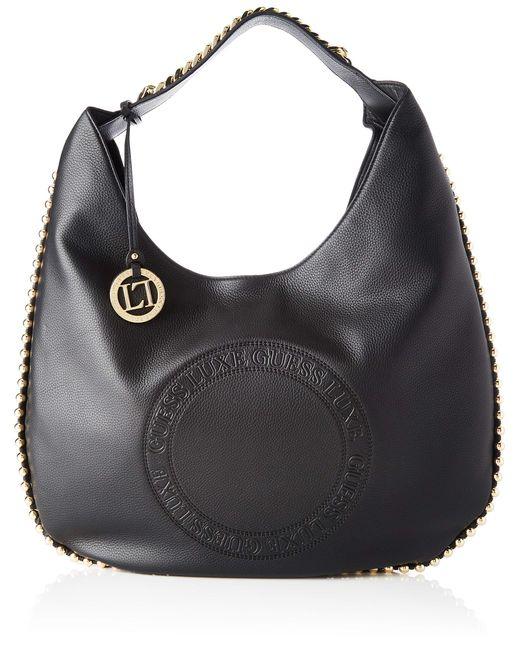 Eve, Shoppers y bolsos de hombro Mujer, Negro Guess de color Black