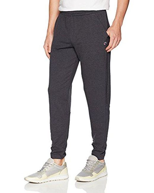 Champion - Black Gym Issue Pant for Men - Lyst