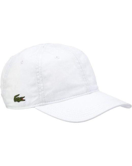 Casquette de Baseball Lacoste pour homme en coloris White