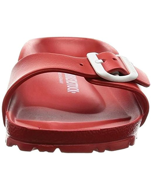 24810085dddd Birkenstock Madrid Eva Red Clogs And Mules in Red - Save 9% - Lyst