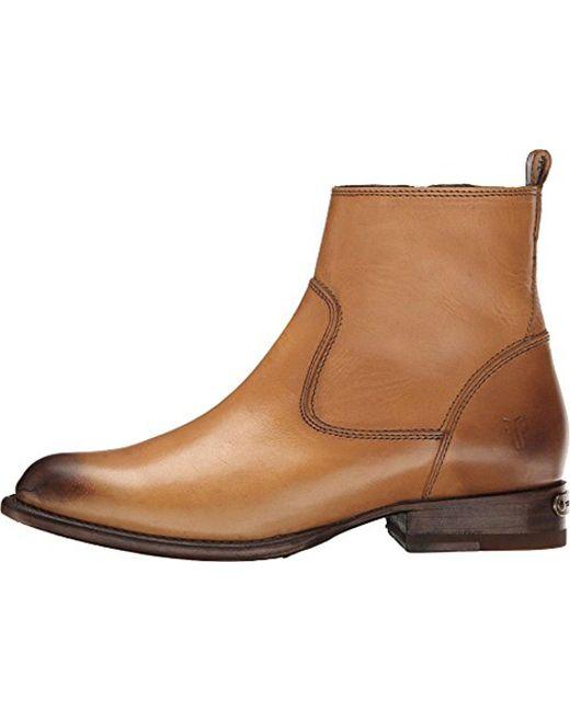 Frye - Brown Danielle Short-smpv Boot - Lyst