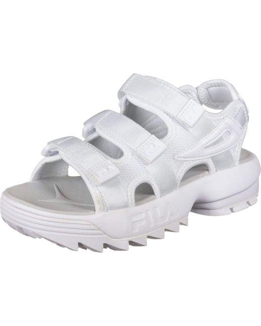 Disruptor Sandalo White di Fila