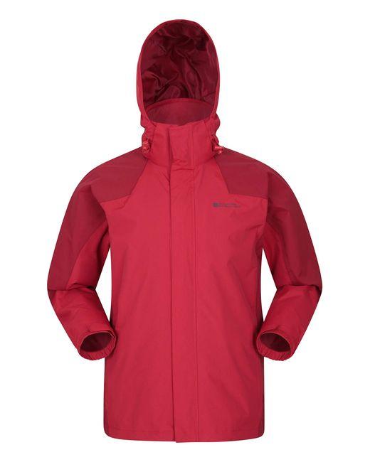Veste Gust pour - Imperméable, Respirante et Pliable - Séchage Rapide - Doublure en Maille - pour Mountain Warehouse pour homme en coloris Red