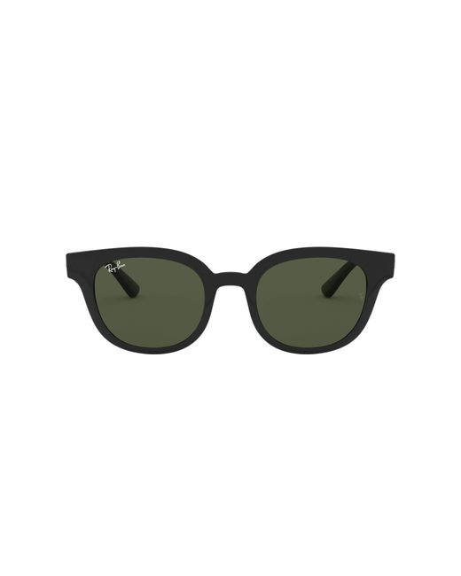 Ray-Ban Brown Rb4324 Square Sunglasses