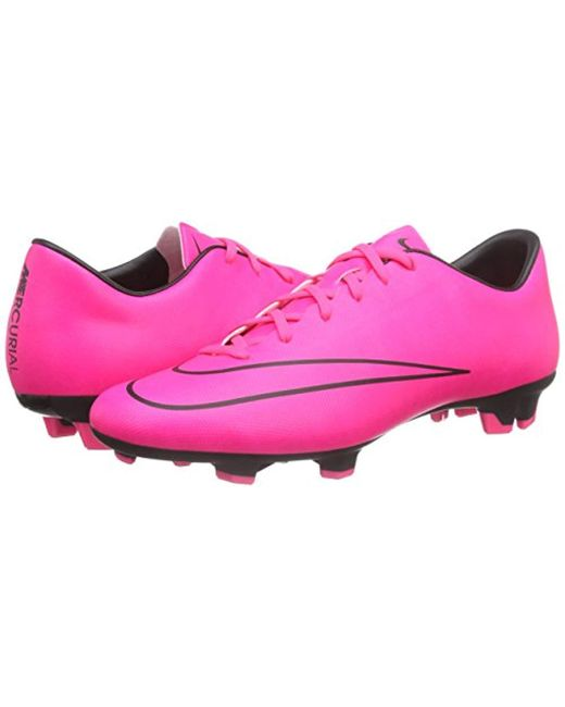 promo code 56a06 dada2 Men's Pink Mercurial Victory V Fg Training Running Shoes