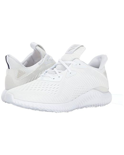 00e8461bf Lyst - adidas Alphabounce Em M Running Shoe in White for Men - Save 21%