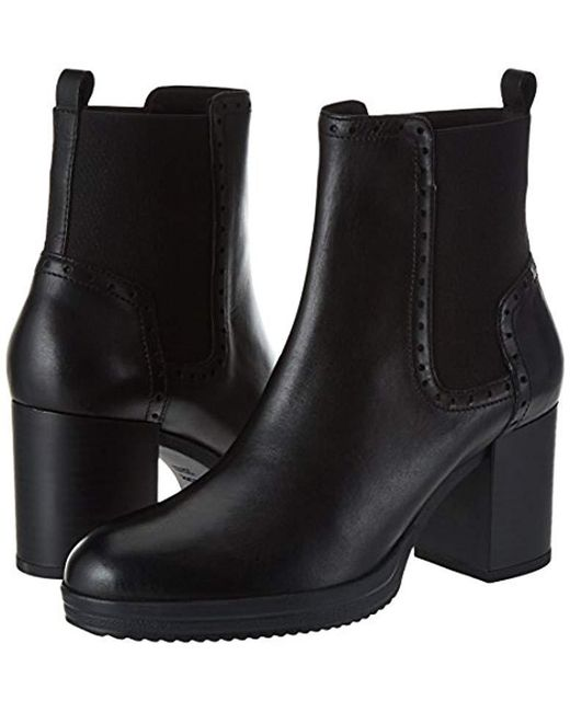 fotos oficiales ba1e7 4c0c7 Geox D Remigia F Ankle Boots in Black - Lyst
