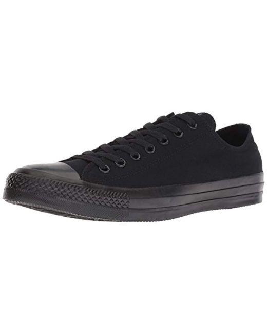 ed0a57228c17 Unisex Chuck Taylor All Star Ox Basketball Shoe (8 B(m) Us / 6 D(m) Us ,  Black Monochrome)