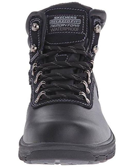 40957959dd2 Black Usa Segment Ander Waterproof Boot
