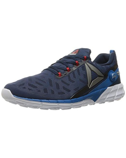 df1f282a2075 Reebok - Blue Zpump Fusion 2.5 Running Shoe for Men - Lyst ...