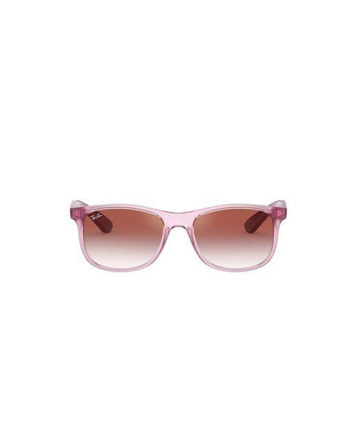 0RJ9062S Occhiali da Sole di Ray-Ban in Pink