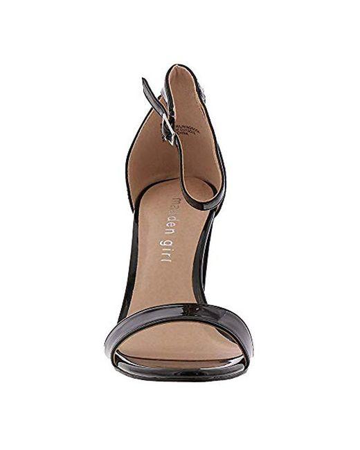 4dad7e3723c ... Madden Girl - Black Beella Dress Sandal - Lyst ...