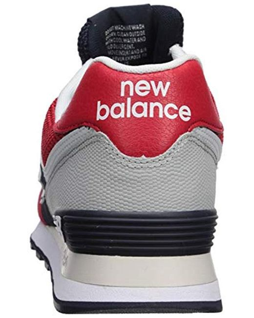 Lyst New Balance Iconic 574 Sneaker in Black for Men