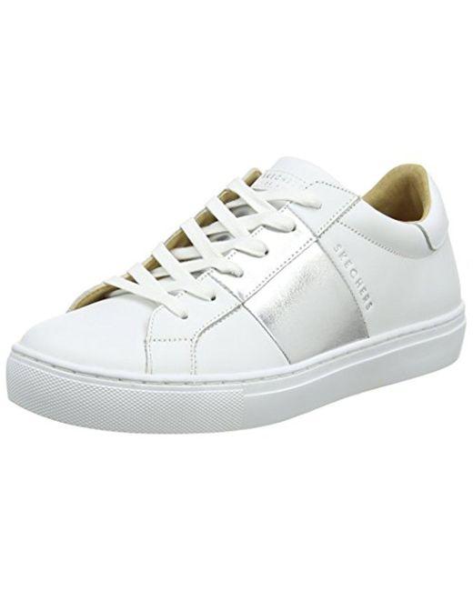Skechers - White Side Street-banded Sneaker - Lyst