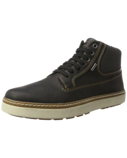 Geox U Mattias B ABX C Chukka Boots in Black für Herren