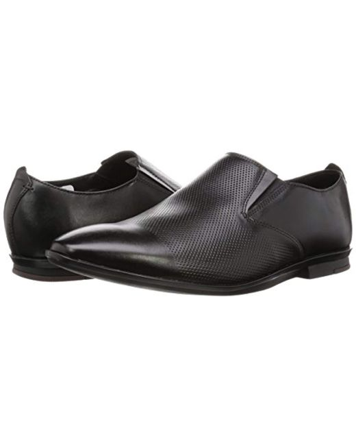 discount 100% authenticated cute cheap Men's Kinver Step Black Leather Business Shoes