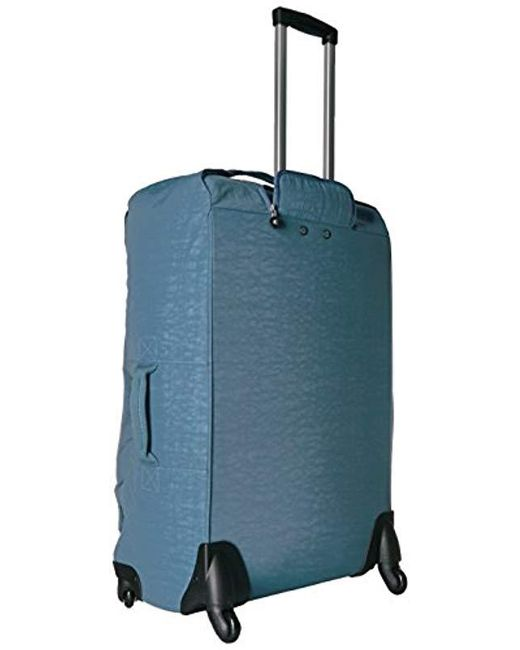 b62641b7e2d6 Lyst - Kipling Darcey Solid Large Wheeled Luggage in Blue - Save 5%