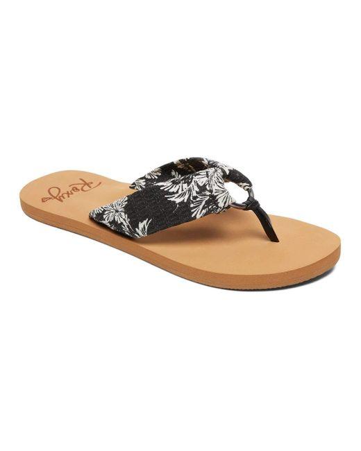 Sandales pour Roxy en coloris Black