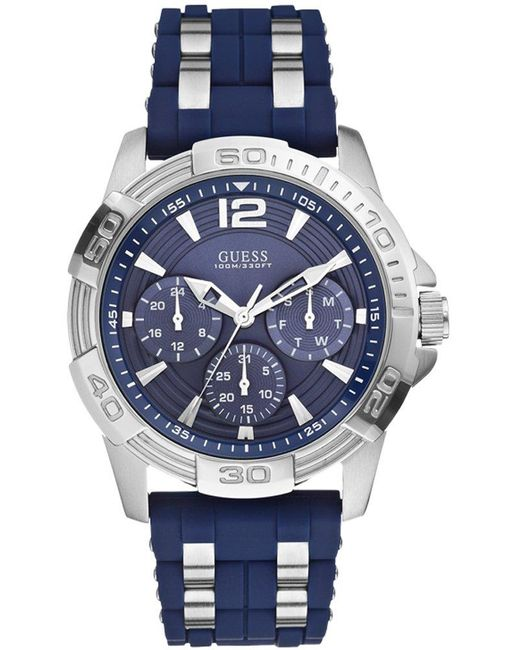 Gent orologi uomo W0366G2 di Guess in Blue da Uomo