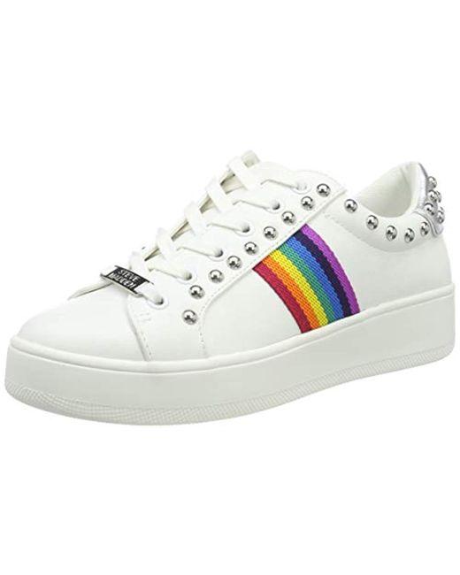 12ba0c0dad4 Steve Madden - White Belle Sneaker Trainers - Lyst ...