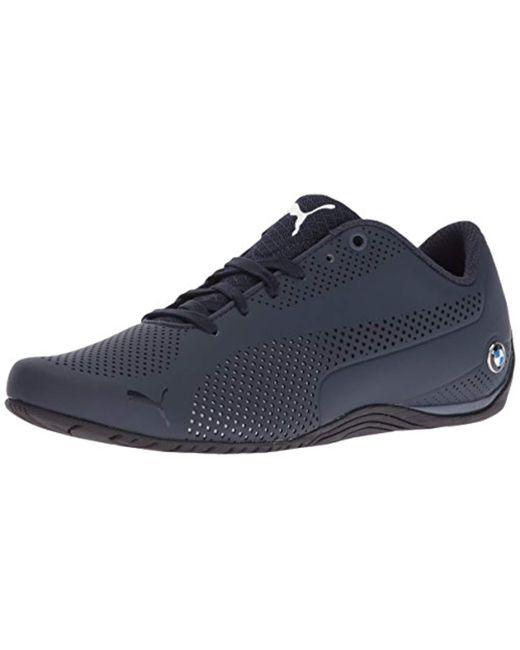 PUMA Blue Bmw Ms Drift Cat 5 Ultra Walking Shoe for men