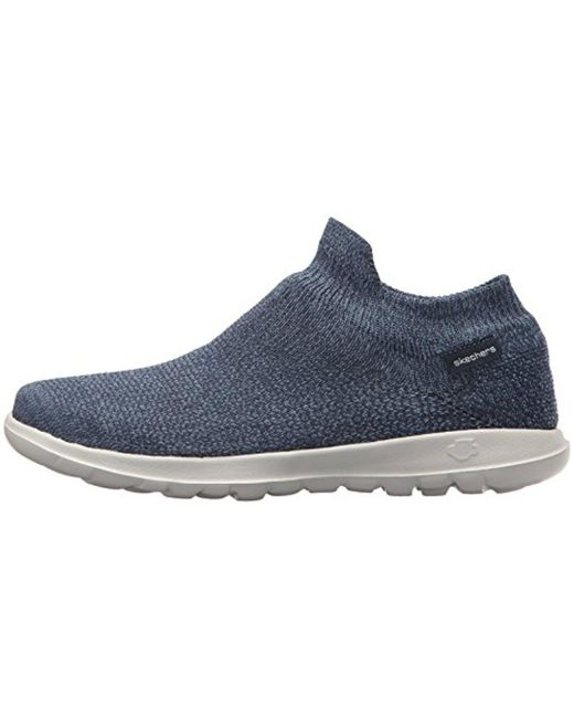 Skechers Performance Women's Go Walk Lite 15372 Sneaker,Gray,9 M Us