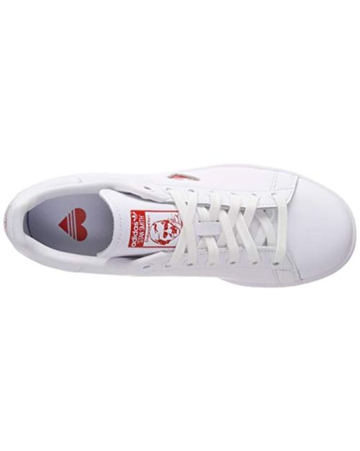 Stan Smith W G27893, Sneakers Basses Femme de coloris blanc