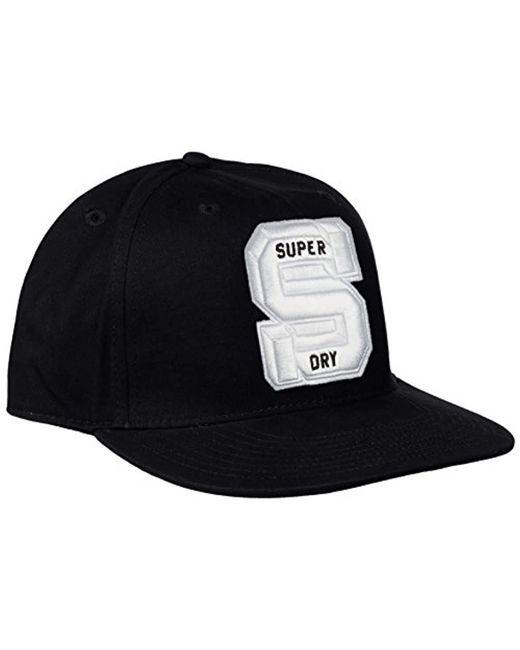 40fb9810 Superdry - Black Super Trinity Montana Backpack for Men - Lyst ...