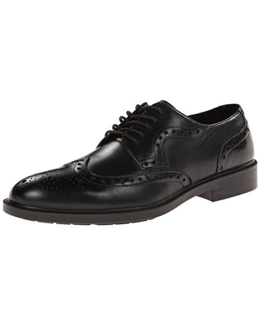 Hush Puppies - Black Issac Banker Oxford for Men - Lyst