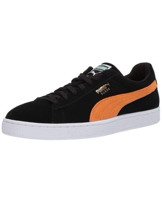 PUMA Suede Classic Sneaker Black/orange