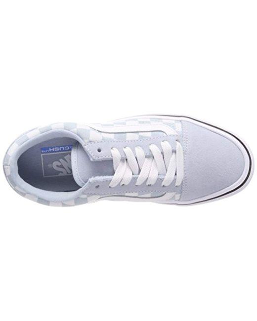 e4d9c245d1 ... Vans - Blue Unisex Adults  Old Skool Lite Trainers for Men - Lyst