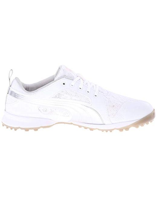 d709c8d06269 ... PUMA - White Biofly Mesh Wmns Golf Shoe - Lyst ...