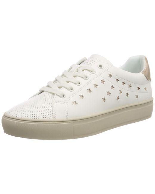 Esprit White Colette Star LU Sneaker