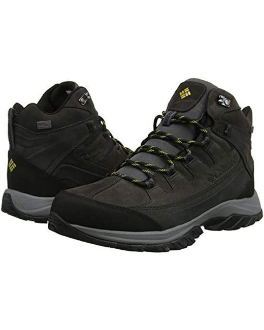 4f3b312b7ae Columbia Waterproof Terrebonne Ii Mid Outdry Hiking Shoes in Gray ...