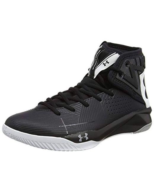 the latest 319a8 bd090 Men's Black 's Ua Rocket 2 Basketball Shoes