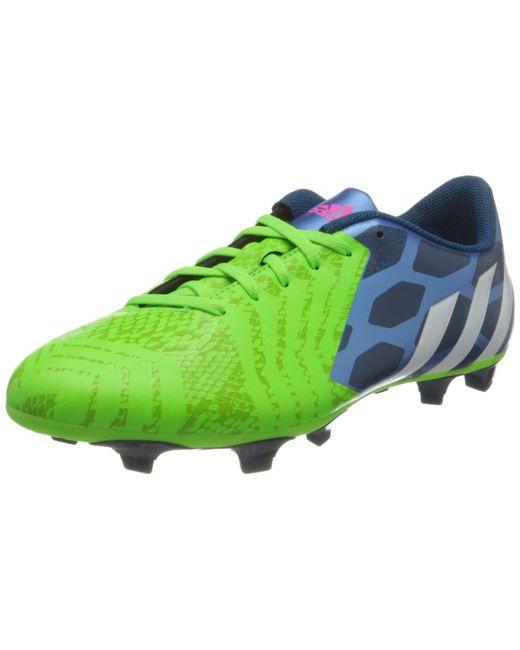 Predito Instinct FG, Chaussures de Football Adidas pour homme en coloris Blue