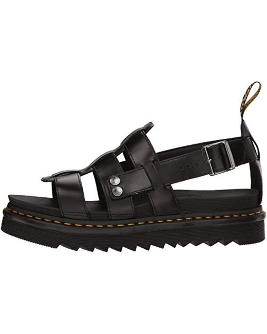 innovative design color brilliancy most popular Dr. Martens Unisex Adults' Terry Open Toe Sandals in Black ...