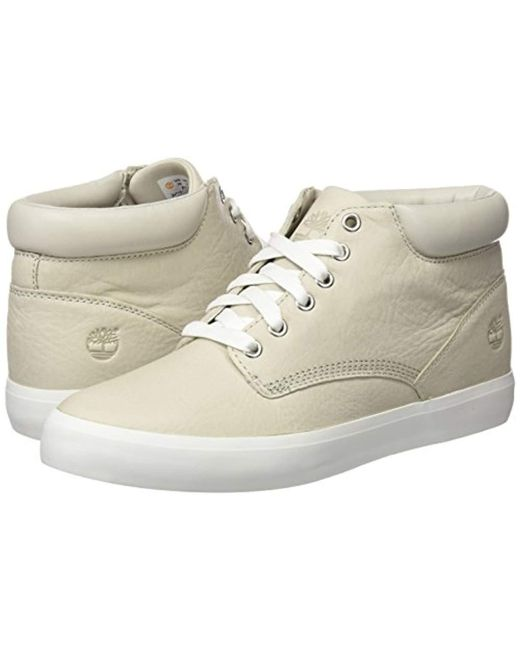 estornudar Patológico pintor  Timberland Flannery Chukka With Crainy Day Escape Full Grain Boots in Beige  (Natural) - Lyst