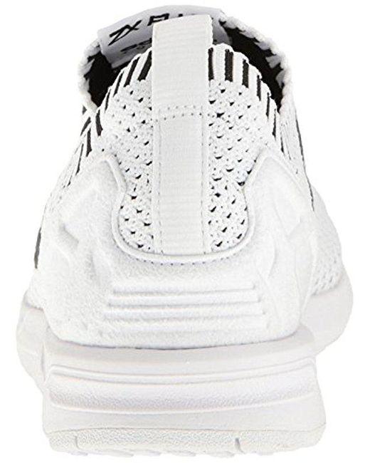 Lyst adidas Originals ZX flujo PK Fashion zapatilla en blanco