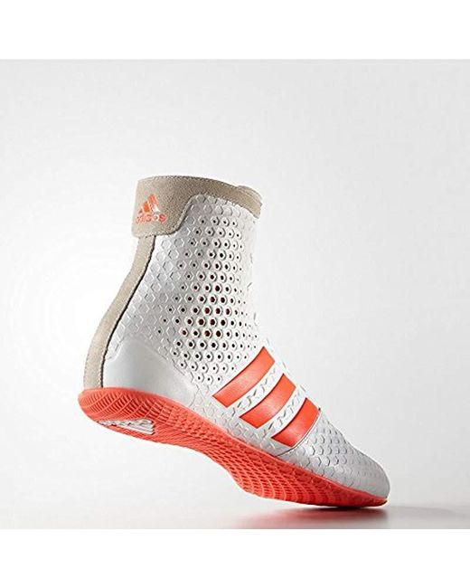 adidas KO Legend 16.1 Unisex Boxing Shoes White Mens Womens Boxing Boots