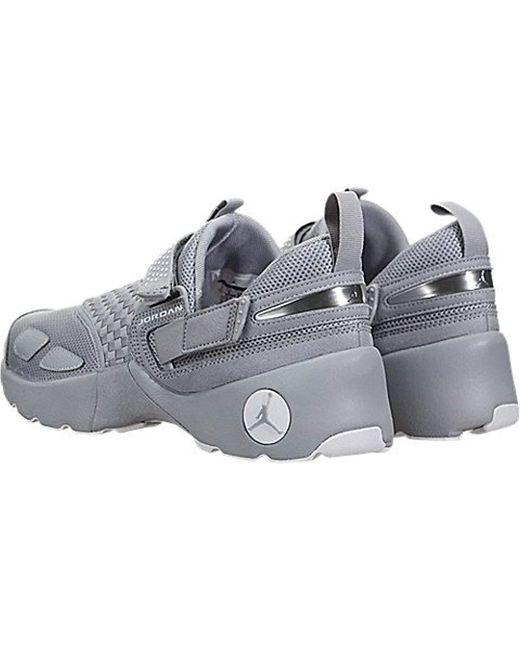 670f418e9a455 Men's Gray Air Jordan Trunner Lx 897992-003