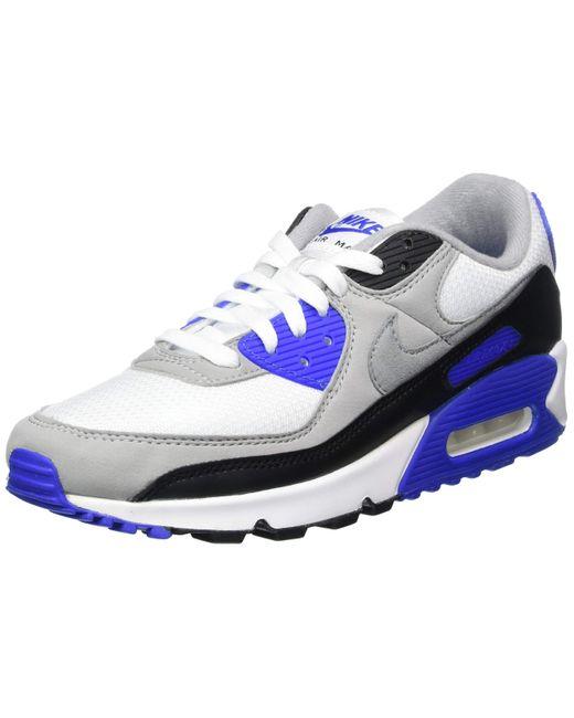 Air Max 90 Cuir Nike pour homme en coloris Bleu - 66 % de ...