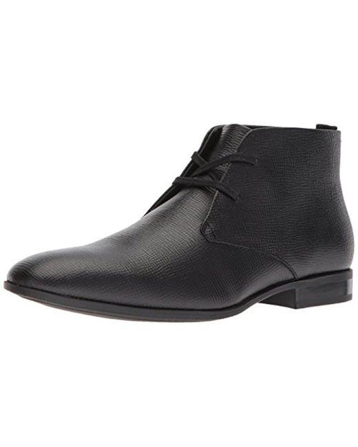 Calvin Klein - Black Carmicheal Epi Chukka Boot for Men - Lyst