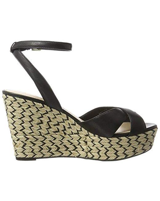 6fcd5d33abb3 ... ALDO - Black Annalynn Ankle Strap Sandals - Lyst ...