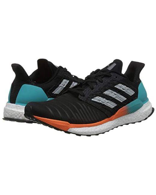 14e8bb8e77187 ... Adidas - Black Solar Boost M Running Shoes for Men - Lyst ...