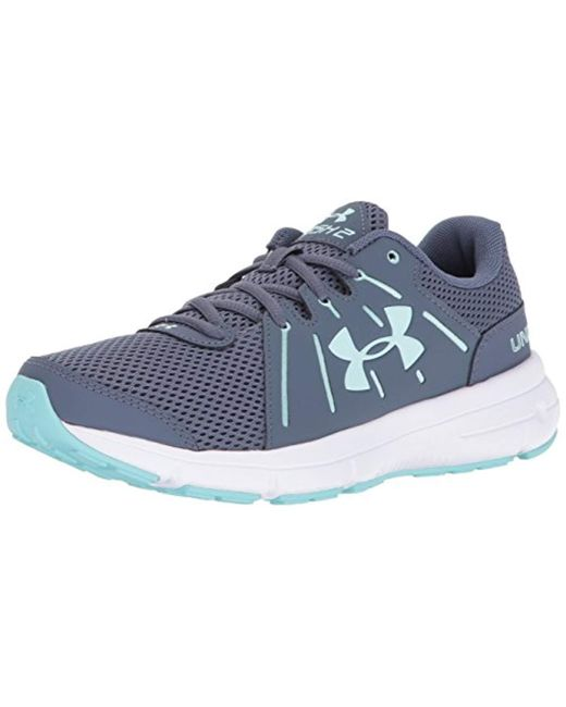 1fc4333e28af Under Armour - Gray  s Ua W Dash Rn 2 Running Shoes Black - Lyst ...