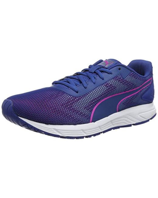 PUMA - Blue Engine Wns Running Shoes - Lyst ...