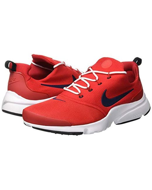 1789a32b5013c Nike  s Presto Fly Shoes in Red for Men - Save 35% - Lyst
