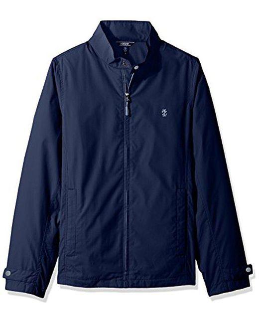Izod Blue Water Proof Jacket for men