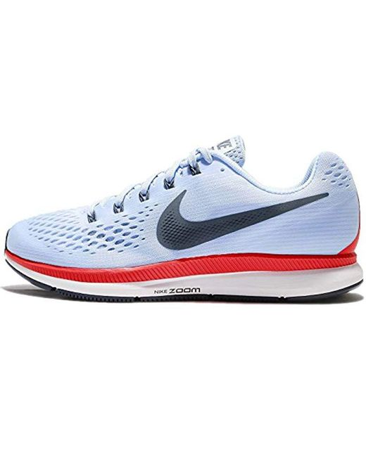 b8710ca5e959 Nike Air Zoom Pegasus 34 Running Shoes in Blue for Men - Save 9% - Lyst